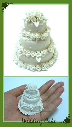 Mini Wedding Cakes #shapie cake toppers would be great on your wedding cake! See more at shapifymylife.com