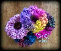 2-pk of Crochet Scrunchies Custom Orders Available Variety of