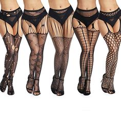 Cute Stockings, Fishnet Stockings, Stockings Lingerie, Black Fishnet Tights, Black Fishnets, Lingerie Outfits, Sexy Outfits, Corsets, Tall Jeans