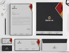 Corporate Identity Stationery Invoice Design, Letterhead Design, Branding Design, Psd Templates, Brochure Template, Envelope Design, Stationery Set, Corporate Identity, Graphic Design