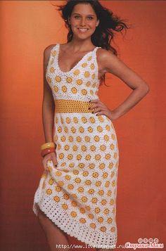 Платье с ромашками. - Страна Мам