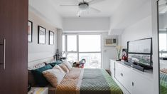 A Look Inside the Charming Home of a Real Living Reader Condo Interior Design, Condo Design, House Design, House Tours, Rooms, Space, Bed, Furniture, Home Decor
