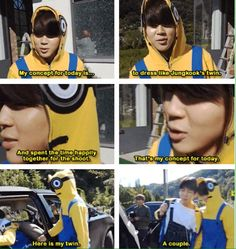 """V in the back like """"how can you do this to me""""and """" Jimin I'm going to kill you for taking my kookie"""""""