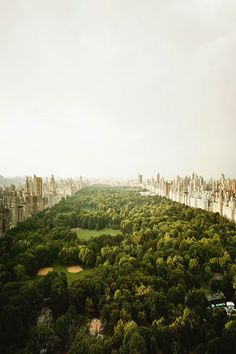 Love this shot of Central Park! #CClovesNYC