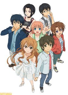 Golden Time - another good romance anime Anime Chibi, M Anime, I Love Anime, Awesome Anime, Kawaii Anime, Anime Art, Otaku, Animé Romance, Romance Anime