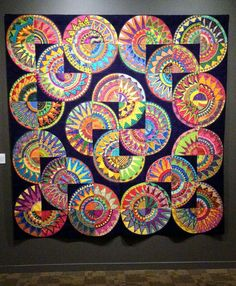 ❤ =^..^= ❤  New York Beauty quilts. San Jose Museum of Quilts and Textiles | Politics in the Zeros