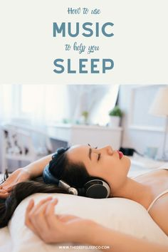 Studies have found a link between listening to and falling asleep. ⁠ Read our latest article to find out the best ways to use music to help you get to at night. Ways To Sleep, How To Sleep Faster, Sleep Help, How To Get Sleep, Good Night Sleep, Sleep Better, Insomnia Causes, Sleep Early