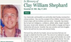 They Posted A Heartbreaking Obituary For Their 22-Year-Old Son. You've Never Read Anything Like This