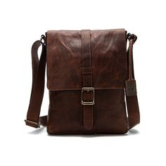Frye Logan Small Messenger Messenger Bag ($438) ❤ liked on Polyvore featuring bags, messenger bags, accessories, dark brown antique pull up, brown cross body bag, frye bags, cross body messenger bag and brown bag