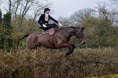 The Bicester Hunt with Whaddon Chase side-saddle meet - Sarah Kate Byrne