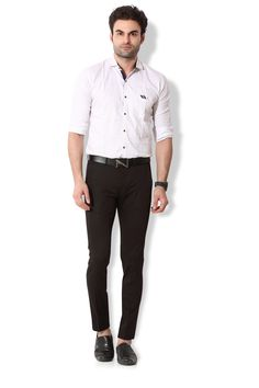 Give yourself an ultra-modern casual look with these dark brown coloured chino pants from KOZZAK. Mens Chino Pants, Casual Looks, Dark Brown, Normcore, Suits, Amazon, Modern, Color, Style