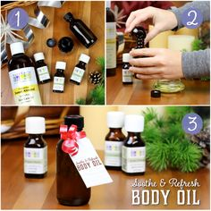 Soothe & Refresh Body Oil Recipe
