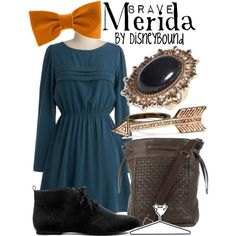 """""""Merida"""" by lalakay on Polyvore  This website has so many cute ideas!"""