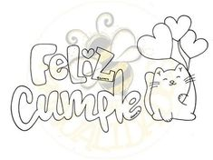 Hand Lettering Alphabet, Script Lettering, Lettering Design, Diy Birthday, Happy Birthday, Doodle Characters, Love Doodles, Graffiti Font, Bullet Journal Font