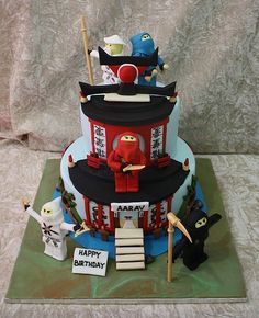 ninjago cake | Flickr - Photo Sharing!