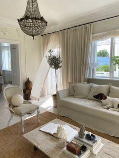 The livingroom in september September, Curtains, Living Room, Videos, Interior, Home Decor, Blinds, Decoration Home, Indoor