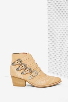 Jeffrey Campbell Glenrio Leather Boots