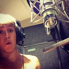 #tbt recording through the dark in Toronto I think - Niall Horan