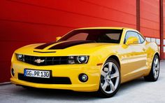 Chevrolet Camaro Yellow  HD Wallpapers in HD