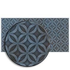 Merola Tile Take Home Tile Sample - Camden Decor Azurro 4 in. x 8 in. Ceramic Wall-S1WMZ4CMDAZ - The Home Depot Fireplace Facade, Tile Projects, Ceramic Wall Tiles, Wall Installation, Stone Tiles, Blue Tones, Camden, Memorable Gifts, Outdoor Walls