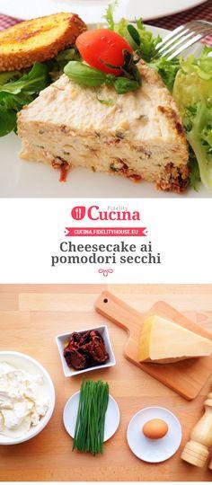 Cheesecake ai pomodori secchi
