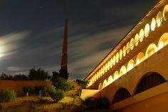Marin County Civic Center. 1960-76. San Rafael, California. Frank Lloyd Wright.