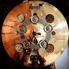 """Beautiful @meinlcymbals x-hat stack consist of #Byzance Brilliant China 14"""" as bottom and #ClassicCustom Trash Splash 12 as top. Perfected by #MeinlChingRing and of course the solid #ScrewClutch by @sweet_spot_clutches. This incredible tools is owned by @snaredrumfreakz . . #meinl #meinlcymbals #meinllove #meinlindonesia @meinlcymbals #meinlfamily . . #drumscripts #drumsoutlet #thedrummersclub #theworldofdrums #drumsandlessons #drummingco #drumming #cymbals #cymbaladdict #drumaddict…"""