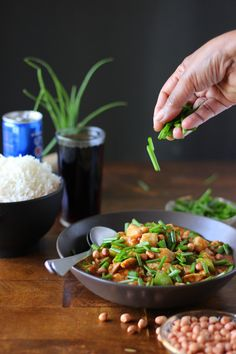 Cola Chicken. Sweet, sour and tangy chinese restaurant style dish but with a unique flavour from cola. Cook time is less than 15 minutes!