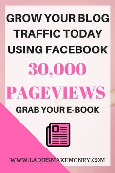 How to get a huge amount of blog traffic with Facebook