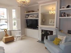 3 bedroom semi-detached house for sale in Mabledon Road, Tonbridge, Kent. ILL TAKE IT! Living Room Grey, Home And Living, Living Room Decor, Living Room Designs, Living Spaces, Living Rooms, Victorian Living Room, Victorian House, Living Room Inspiration