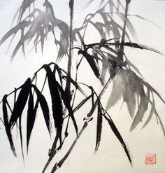 Bamboo painting-ideas