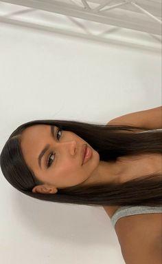 Skin Makeup, Beauty Makeup, Hair Beauty, Aesthetic Hair, Aesthetic Makeup, Cute Makeup, Pretty Makeup, Casual Makeup, Foto Face