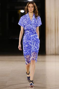 Jonathan Saunders Ready To Wear Spring Summer 2015 London