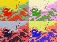 Tropical Texana: Four New Mosaic Art Styles Using Photos from the Garden