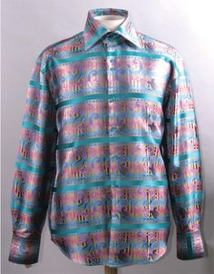 Daniel Ellissa men's fashion dress shirt comes with stripes and an abstract pattern including spread collar, double buttons and buttoned cuffs. These high fashion dress shirts are a great complement to your new men's suit or sport coat. New Mens Suits, Easter Suit, High Fashion Dresses, New Man, Sport Coat, Abstract Pattern, Men Casual, Stripes, Mens Fashion