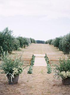 Outdoor Western Australia Summer Wedding - http://www.stylemepretty.com/2015/09/10/outdoor-western-australia-summer-wedding/