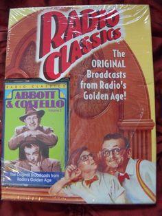 RADIO CLASSICS ORIGINAL BROADCASTS GOLDEN AGE ABBOTT & COSTELLO VOLUME 2 CD NEW