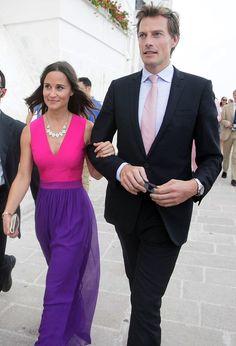 9/19/2014: Pippa Middleton & Nico Jackson arrive at Carlo V Castle for a wedding (Monopoli, Italy)