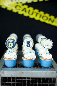 Policeman Birthday Party Ideas   Photo 6 of 28