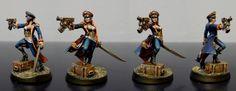 Commissar, Female Commisar, Imperial Guard, Mordian Iron Guard Commisar, Warhammer 40,000