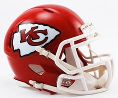 Kansas City Chiefs Riddell Speed Mini Football Helmet  New in Riddell Box *** Continue to the product at the image link.