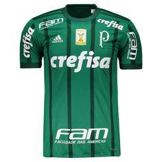 Camisa Adidas Palmeiras I 2017 com Patch Somente na FutFanatics você compra  agora Camisa Adidas Palmeiras 538e7c52df16c