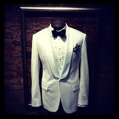 The White Shawl Lapel Dinner Jacket