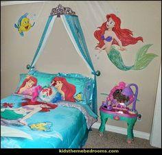 ariel themed bedroom decorating ideas-ariel themed bedroom decorating ideas