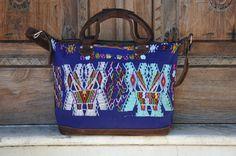 Chajul Huipil Weekender Bag Gorgeous Handmade by Tienditaboutique