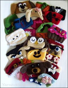 Free Crochet Cup Cozy Patterns – Something for Everyone & Every Season We decided to make a crochet cup cozy or two. But once we got started, we couldn't stop! As you can see, we made animals, holid...