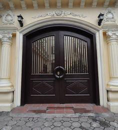 Colonial style in Hanoi, Vietnam.