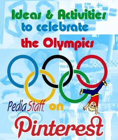 Pinterest Pinboard of the Week: Therapy Activities & Ideas to Celebrate the Olympics - pinned by @PediaStaff – Please Visit ht.ly/63sNtfor all our pediatric therapy pins