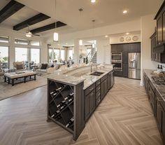 Luxury Kitchen Design In 2020 Ideas , Dream and Modern Kitchen) Home Decor Kitchen, Home Kitchens, Kitchen Ideas, Diy Kitchen, Kitchen Layout, Kitchen Designs, Open Concept Kitchen, Kitchen Hacks, Luxury Kitchens