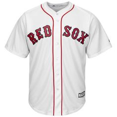 Boston Red Sox Cool Base MLB Custom White Jersey